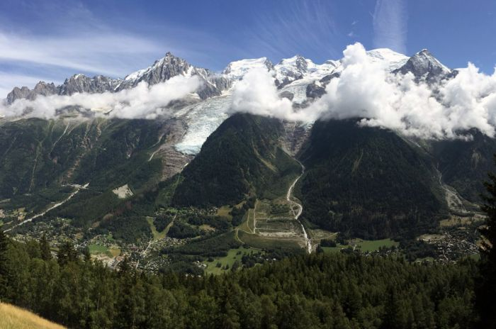 Ascension du Mont Blanc en 2010